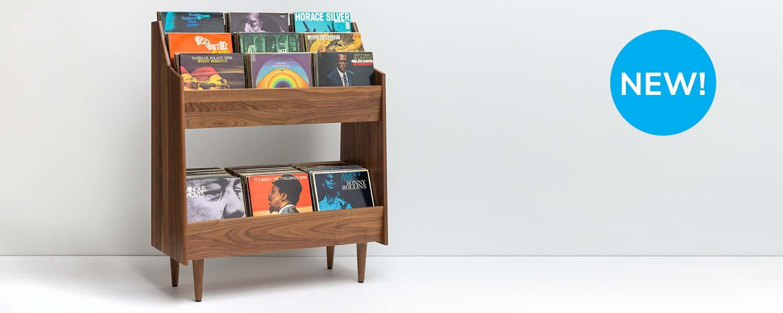Luxe Modern LP Storage Stand