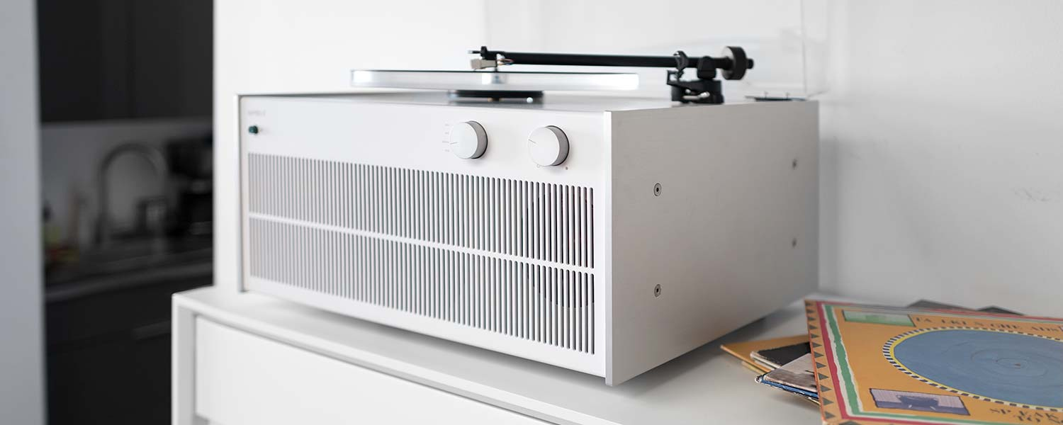 Modern Record Player Tabletop