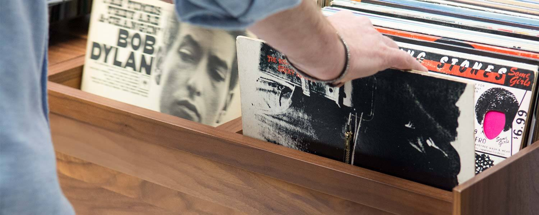 Unison Album Storage Cabinet